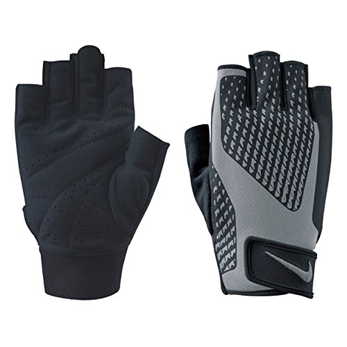 Nike Men's Core Lock Training Gloves 2.0 (Medium, Black/Cool Grey)