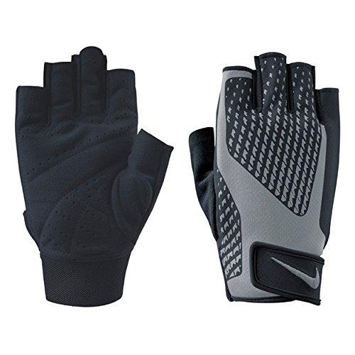 NIKE Men's Core Lock Training Gloves 2.0 (Medium, Black/Cool Grey)