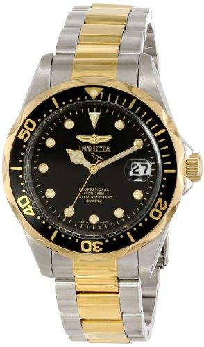 Invicta Men's 17049 Pro Diver Analog Display Japanese Quartz Two Tone Watch ()