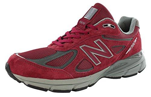 New Balance Men's M990BU4 Running Shoe,Burgundy,9.5 D US