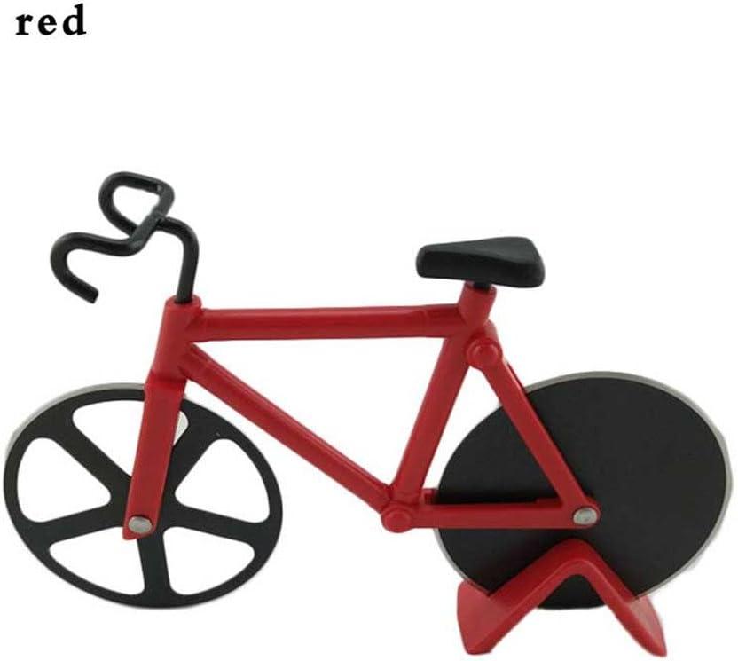 Fashion para bicicleta cortador de Pizza doble bicicleta de acero ...