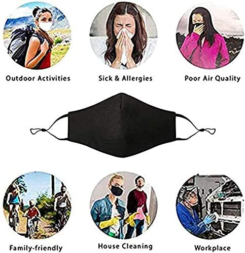 Reusable Cotton Adjustable Adult Protective Face Protector