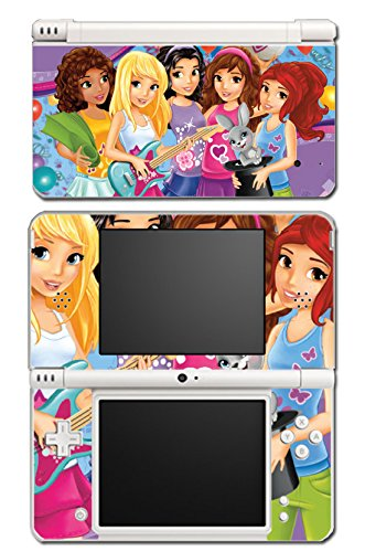 Girl Friends Toy Jungle Mall Mia Olivia House Video Game Vinyl Decal Skin Sticker Cover for Nintendo DSi XL System