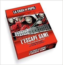 Amazon Fr L Escape Game Officiel De La Casa De Papel
