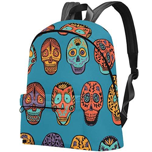 LORVIES Hawaiian Islands Casual Backpack School Bag Travel Daypack