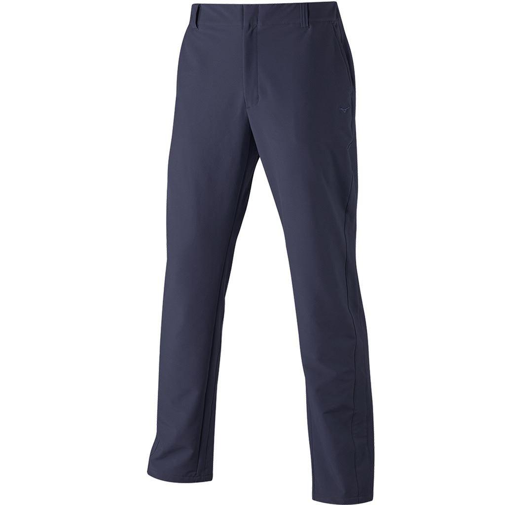 Mizuno Golf 2017 Mens Premium Fleece Lined Move Tech Stretch Trousers Peacoat 34x33