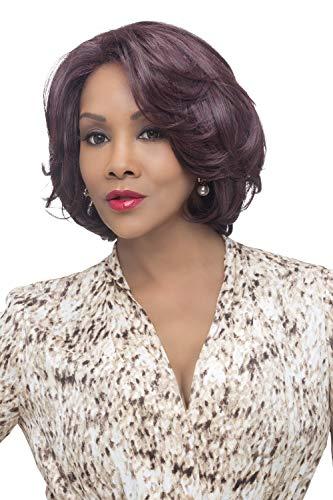 Vivica A. Fox GARDEN New Futura Fiber, Natural Baby Hair Lace Front Wig in Color ()
