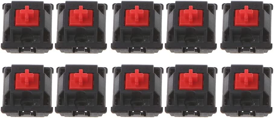 YUEYU 10Pcs Mechanical Keyboard Switch Original Cherry MX Switch 3 Pin