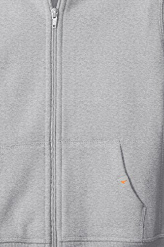 Scout + Ro Big Boys' Basic Fleece Hooded Jacket, Grey Heather, 14 by Scout + Ro (Image #6)