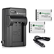 Powerextra 2 Pack Replacement Sony NP-BX1 Li-ion Battery With Charger For Sony NP-BX1/M8 and Sony Cyber-shot DSC-RX100, DSC-RX100 II, DSC-RX100M II, DSC-RX100 III, DSC-RX100 V, DSC-RX100 IV, HDR-CX405