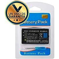 Kit Batería de Btería de Litio 3.7 Volts 2000 mAh para Consola Nintendo 3DS/2DS + Desarmador