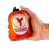 Hummingbird Hammocks Ultralight Single Plus Hammock, Sunset Orange