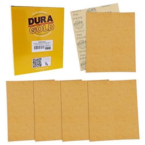 6 Lijas Dura-Gold 23cm x 28cm Grano 40