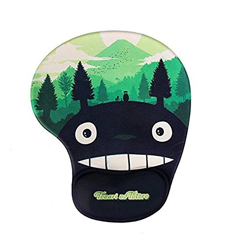 Famixyal hwsbdlongmao Creative Wrist-Protected Wristbands for Personalized Desk Decoration, Cute Cartoon Mouse Pad