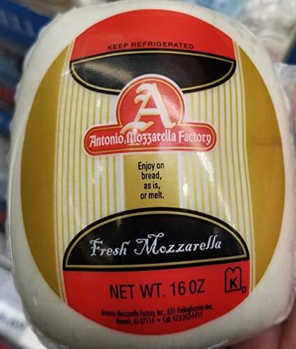 Antonio Mozzarella Factory Fresh Mozzarella Kosher 16oz