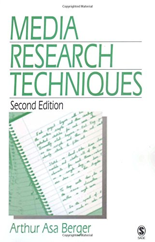 Media Research Techniques by SAGE Publications, Inc