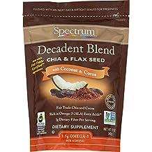 Spectrum Essentials Decadent Blend Ground Chia & Flax Seeds, 12 Ounce