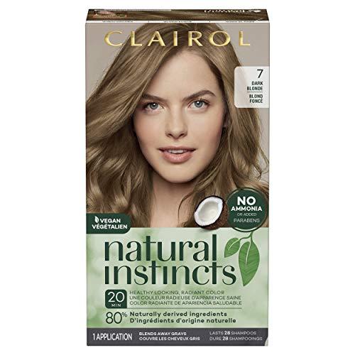 Clairol Natural Instincts Semi-Permanent, 7 Dark
