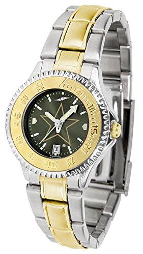 Vanderbilt Commodores Competitor Two-Tone AnoChrome Women's Watch