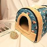 Rabbit Bed Tent Large Sleeping House Warm Fleece