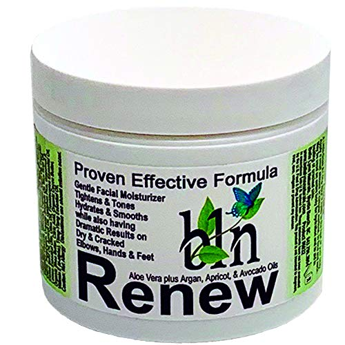 Renew - Facial Moisturizer - Natural Anti-aging Skincare - All Skin Types - Mature Skin - Face Cream - Neck & Décolleté (4 oz)