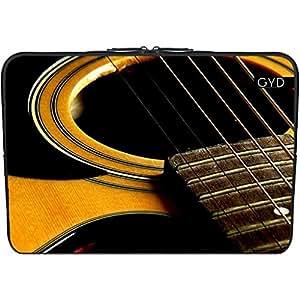 """Funda de neopreno portátil 15.6"""" pulgadas - Guitarra by J McCool"""