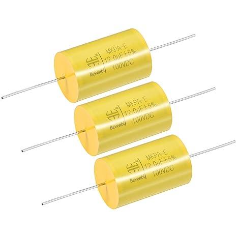 CBB61 450V AC 2.5uF Single Insert Metallized Polypropylene Film Capacitors