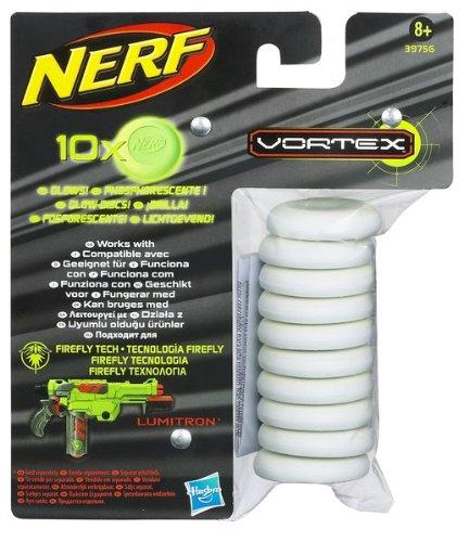 10 opinioni per Nerf 39756148- Dischi Vortex Glow in the Dark, ricarica