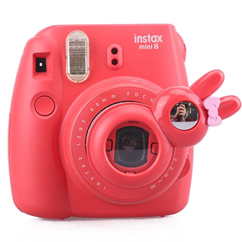 [Fujifilm Instax Mini 7s 8 8+ 9 Selfie Lens] -- CAIUL Rabbit Style Instax Close Up Lens with Self-portrait Mirror For Fujifilm Instax Mini 8 8+ 9 7s Camera and - Lens Hello Kitty