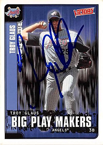 42a0965a2dd Image Unavailable. Image not available for. Color  Troy Glaus autographed  baseball ...