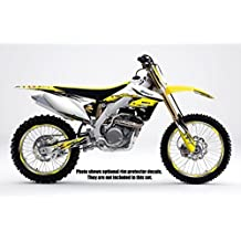 Senge Graphics 2001-2014 Suzuki RM 125/250, Velocity Yellow Graphics Kit