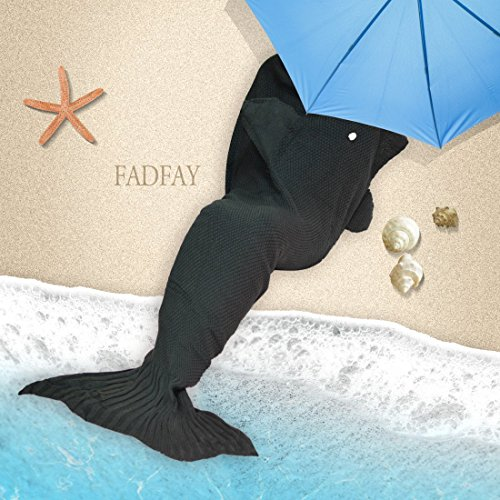 Review Of FADFAY Mermaid Tail Blanket For kids,adults,men,women Soft and Comfortable Sleeping Blanke...