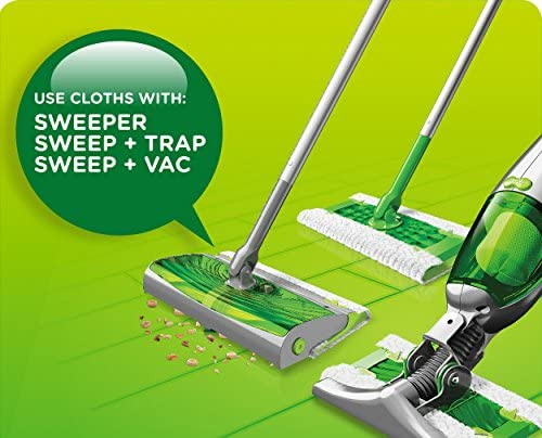 home, kitchen, vacuums, floor care,  sweepers, accessories 6 image Swiffer Sweeper Refills, 64 Ct (Old Version deals