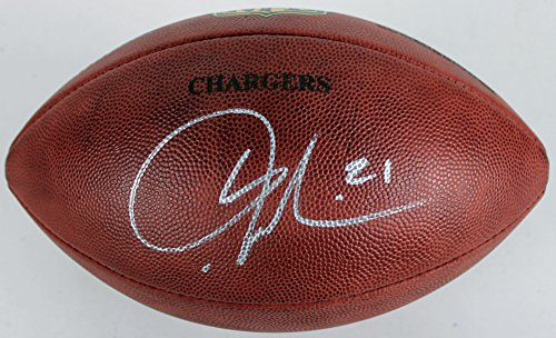 Chargers LaDainian Tomlinson Autographed NFL The Duke Game Football - PSA/DNA (Autographed Nfl Duke Game Football)