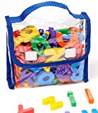 EduKid Toys 72 Magnetic Letters & Numbers (Tote)