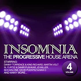 Insomnia the progressive house arena vol 4 for Insomnia house music