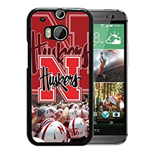 Unique And Lovely Custom Designed Case For HTC ONE M8 With Nebraska Cornhuskers Black Phone Case