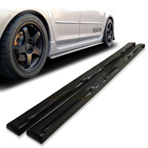 Side Speed Skirts (Mazda3 4/5dr MS Style Urethane Side Skirt Extensions For 10-11 Models)