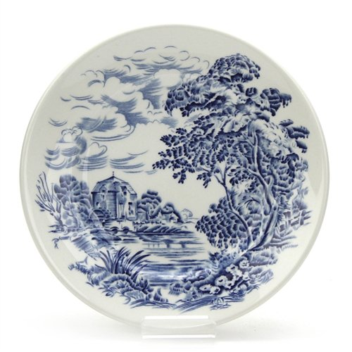 Countryside Blue by Wedgwood, China Bread & Butter Plate