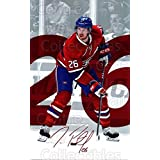 Jeff Petry Hockey Card 2016-17 Montreal Canadiens Postcards #16 Jeff Petry