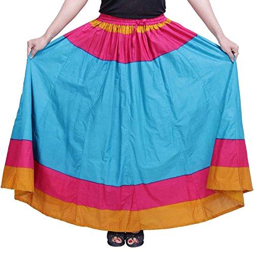 Skirt Eye Indian Handicrfats Cotton Solid catching Export YqzKEq