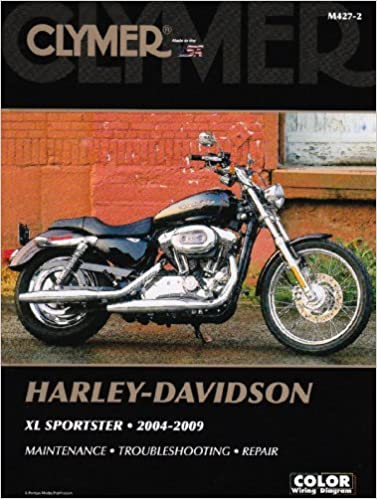 clymer harley-davidson xl sportster 2004-2009 (clymer color wiring diagrams)  paperback – illustrated, 14 aug 2009