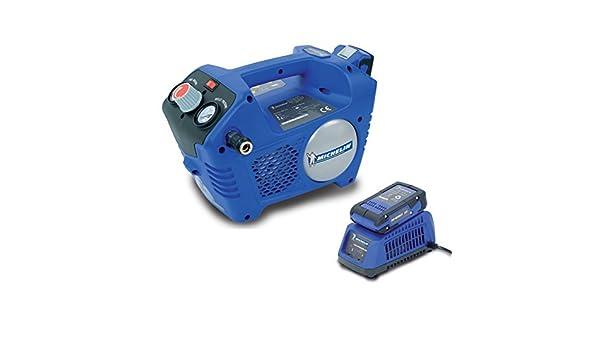 Michelin Mbl24V Compresor portátil Azul: Amazon.es: Bricolaje y herramientas