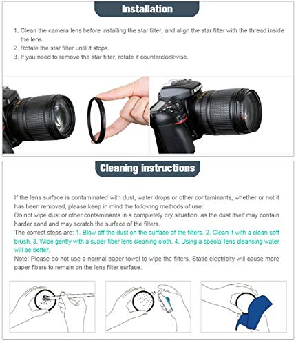 ZOMEi 52MM CPL Circular Polarizing Lens Filter for Camera Lenses Optical Glass Lens Filter Suitable for Outdoor & Professional Photography