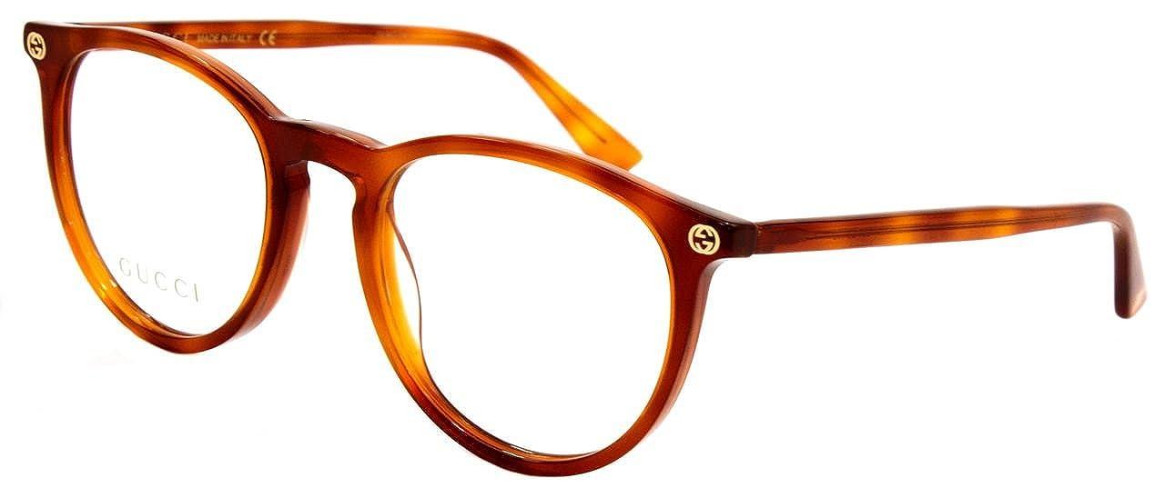 Amazon.com: Gucci GG0027O - Gafas de sol redondas de ...