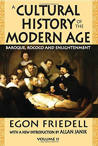 Read Online A Cultural History of the Modern Age: Volume 2, Baroque, Rococo and Enlightenment ebook