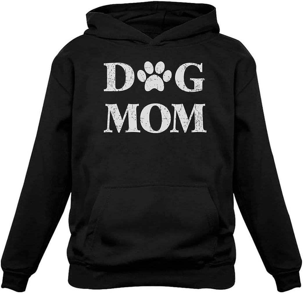 Tstars - Dog Mom for Dog Lover Women Hoodie
