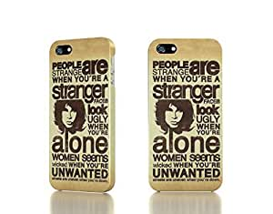 Apple iPhone 4 / 4S Case - The Best 3D Full Wrap iPhone Case - the doors typography lyrics jim morrison