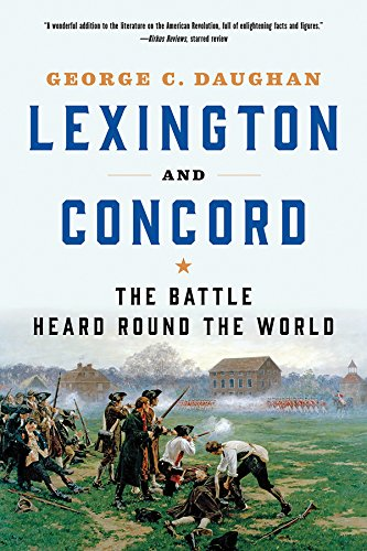 Ebook cover from Lexington and Concord: The Battle Heard Round the World by George C. Daughan