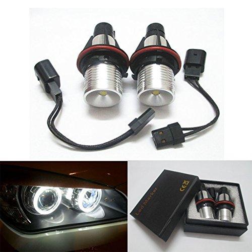 GFJMC Angel Eyes Car Bulb for 05-08 BMW E39 E53 E83 E60 E61 E64 E65 E66(12V 6W) Error Free